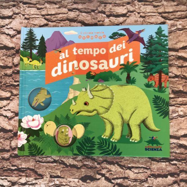 Al tempo dei dinosauri libro bambini
