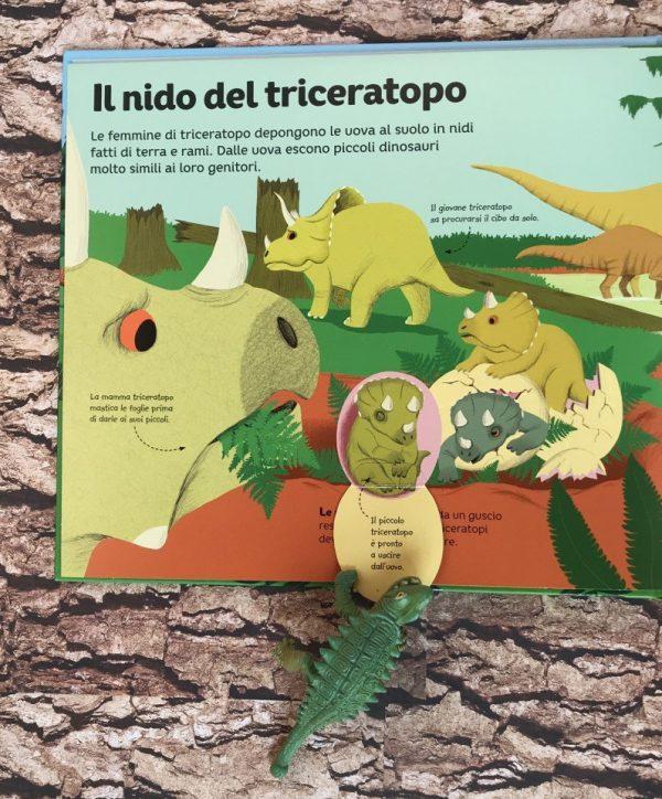 Al tempo dei dinosauri libro bimbo