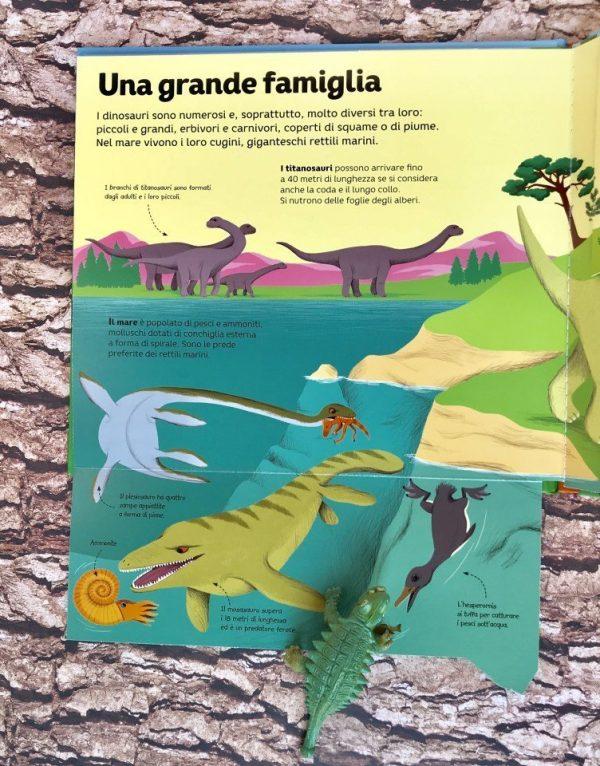 Al tempo dei dinosauri libro bimbi