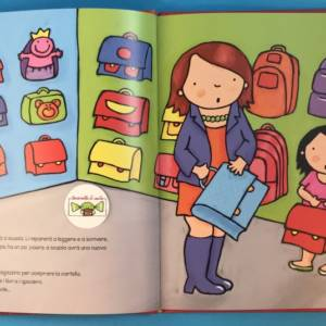 Anna va a scuola libro bimbi
