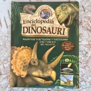Enciclopedia dei dinosauri libro bambini