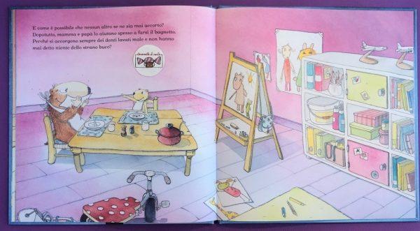 L'ombelico di gustavo libro bambina