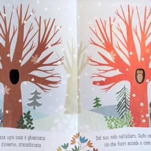 Albero libro bambino