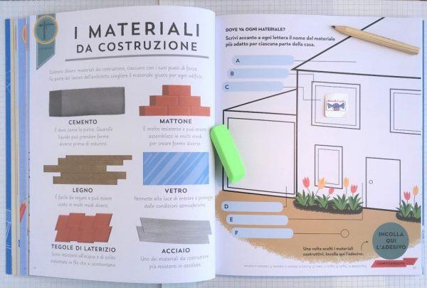 Apprendista architetto libro bambino