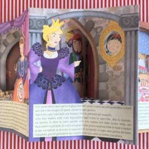 Biancaneve fiabe a tutto tondo libro bambino