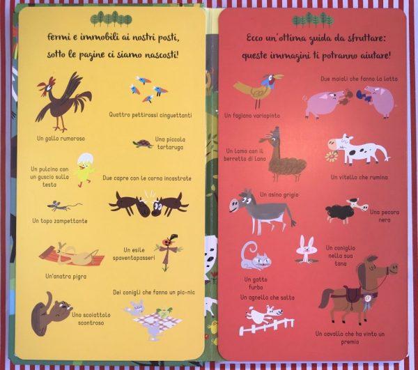 Cerca e trova animali libro bambini