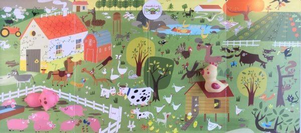 Cerca e trova animali libro bambino