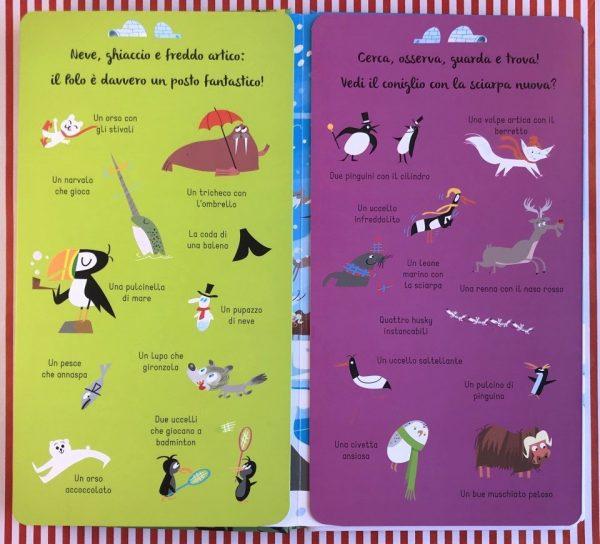 Cerca e trova animali libro bambina