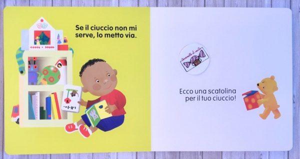 Ciao ciao ciuccio libro bimbo