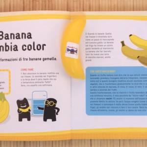 Esperimenti con frutta verdura e altre delizie libro bambina
