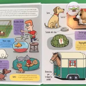 Gli animali piccoli esploratori libro bambino