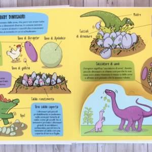 I dinosauri piccoli esploratori libro bimbo
