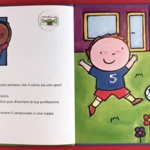 Il Calciatore libro bambini