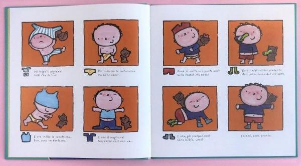 Il grande libro di Mattia la mia giornata libro bimbo