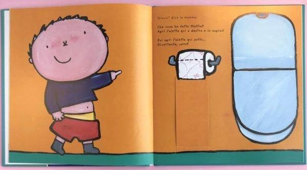 Il grande libro di Mattia la mia giornata libro bambino