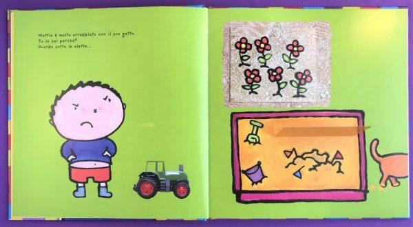 Il grande libro di Mattia le mie emozioni libro bambino