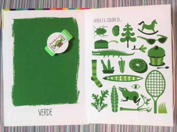 Il libro dei colori libro bimbi