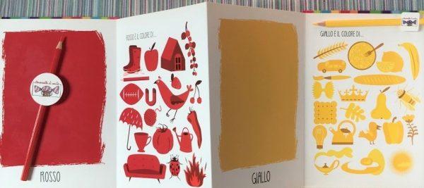 Il libro dei colori libro bambino