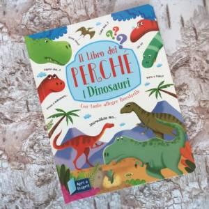 Il libro dei perchè i dinosauri libro bambini