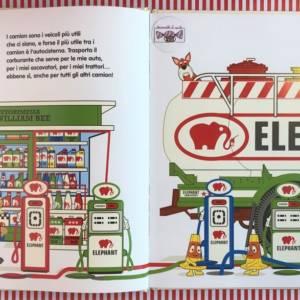 Il meraviglioso mondo dei camion di William Bee libro bambini