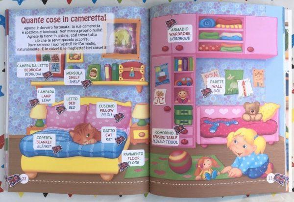 Il mio primo libro d'inglese libro bambini