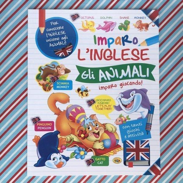 Imparo l'inglese gli animali libro bambini