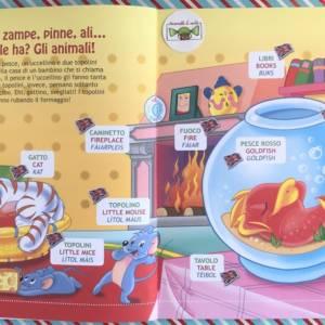 Imparo l'inglese gli animali libro bambino