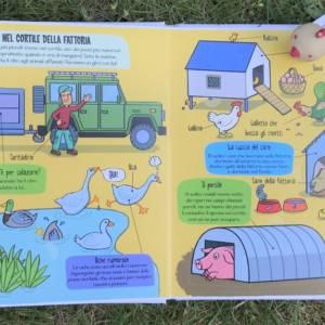 La fattoria piccoli esploratori libro bambino