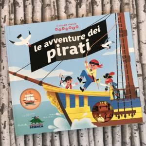Le avventure dei pirati libro bambini