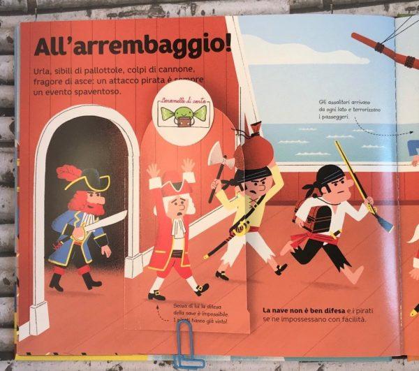 Le avventure dei pirati libro bimbi