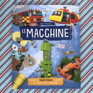 Le macchine libri torcia libro bambini