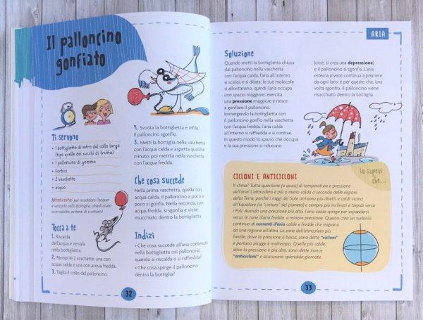 Magie della scienza libro bambino