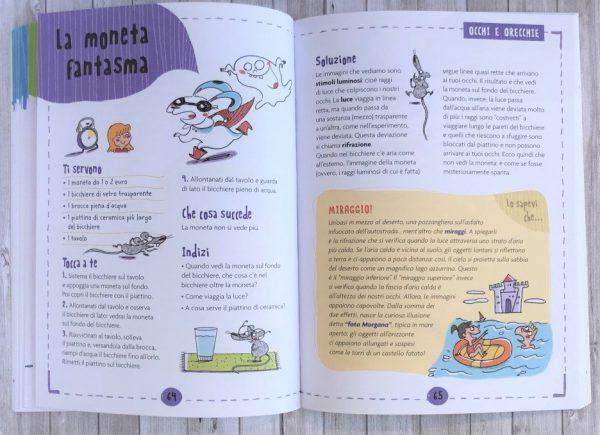 Magie della scienza libro bambini