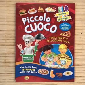 Piccolo cuoco libro bambino