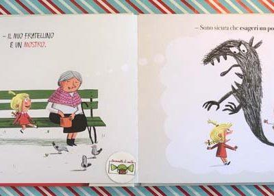 Il mio fratellino è un mostro! Ediz. a colori - Thierry Manes,Nicolas Rouget,Isabelle Wlodarczyk