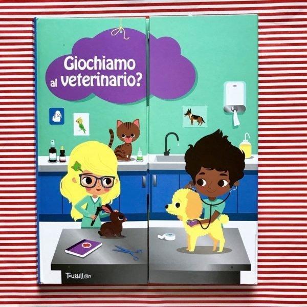 Giochiamo al veterinario libro bambini
