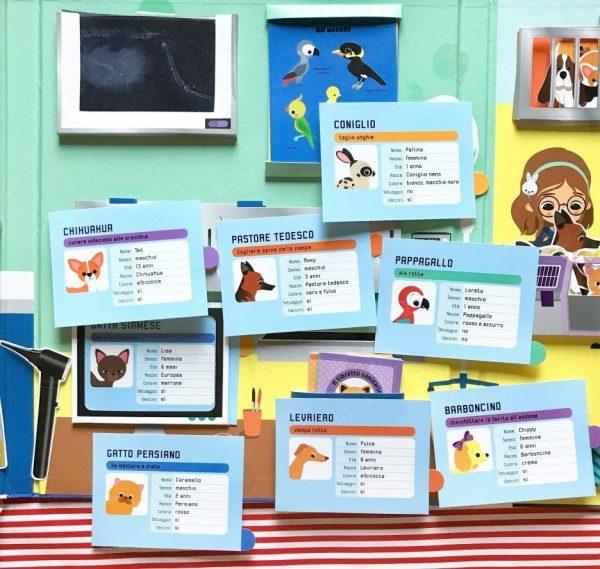 Giochiamo al veterinario libro bambino