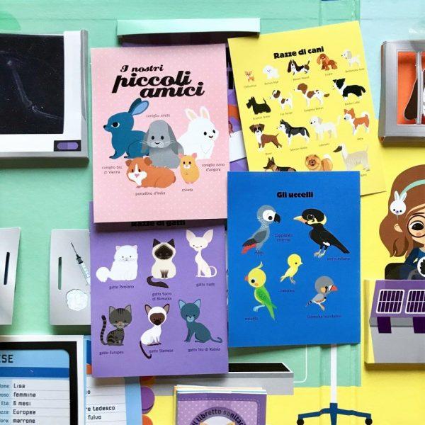 Giochiamo al veterinario libro bimbi