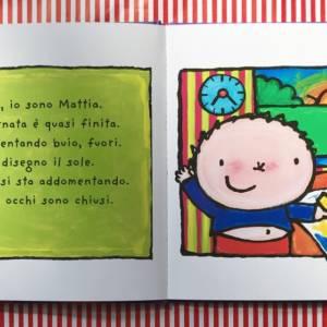 Mattia e il buio libro bambini