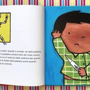 La pediatra libro bambini
