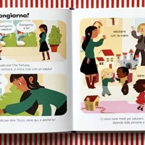 Le buone maniere enciclopedia dei piccoli libro bambini