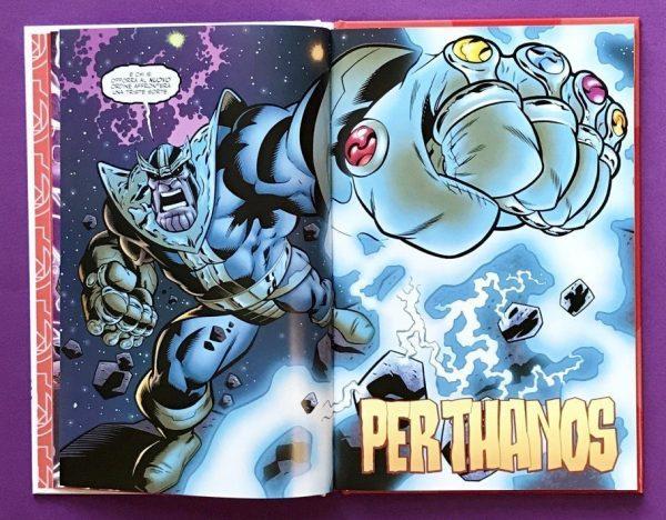 Avengers Marvel il guanto dell'Infinito fumetto ragazzi