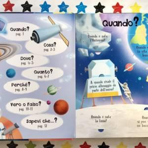 Il libro dei perchè lo spazio libro bambini