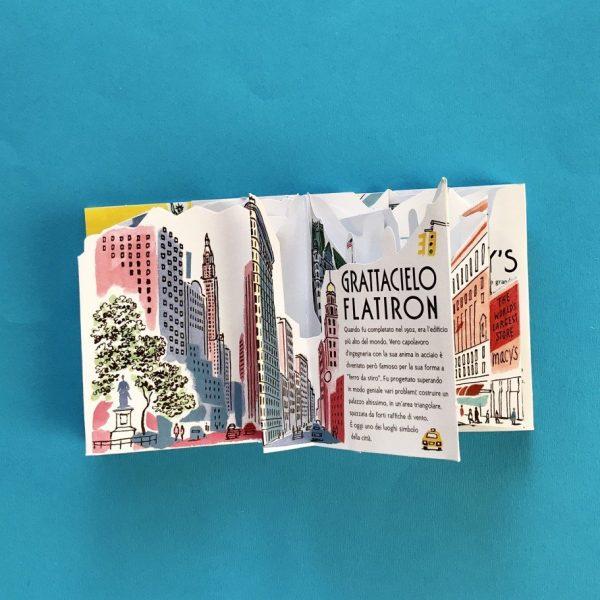 New York guida pop up libro bambini