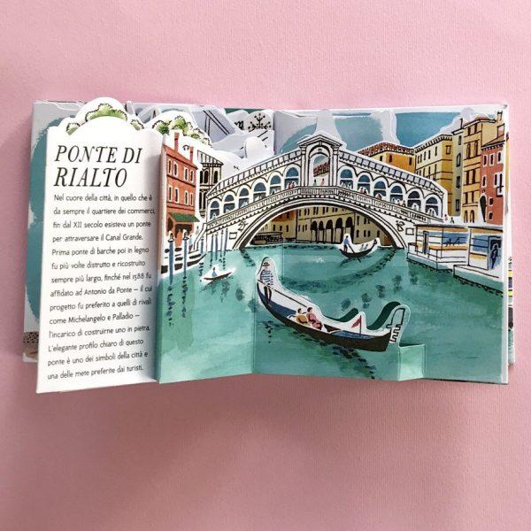 Venezia guida pop up libro bambini