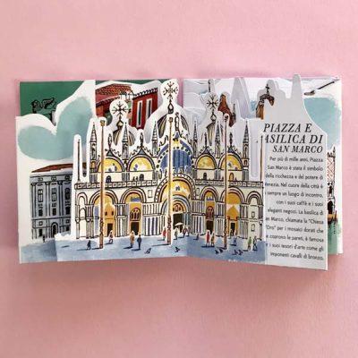 Venezia. Guida illustrata pop up alle meraviglie della città - Sarah McMenemy