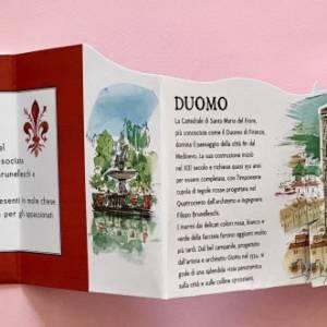 Firenze guida pop up libro bambini