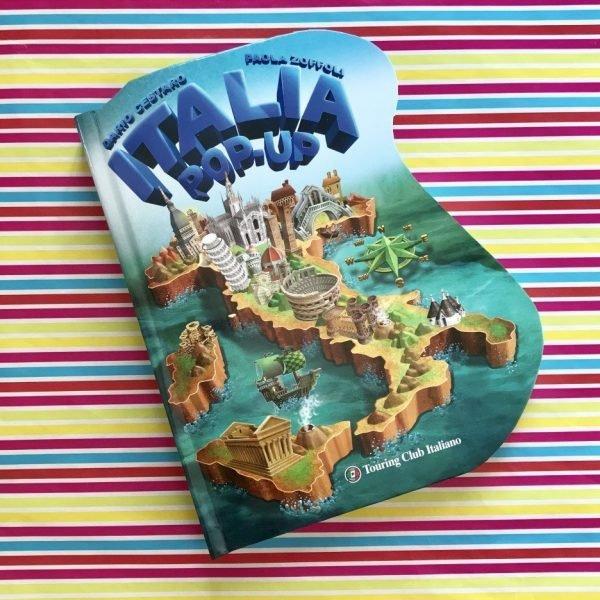 Italia Pop up libro bambini