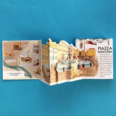 Roma. Guida illustrata pop up alle meraviglie della città - Krystina Litten