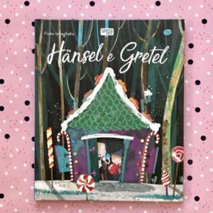 Hansel e Gretel fiabe intagliate libro bambini
